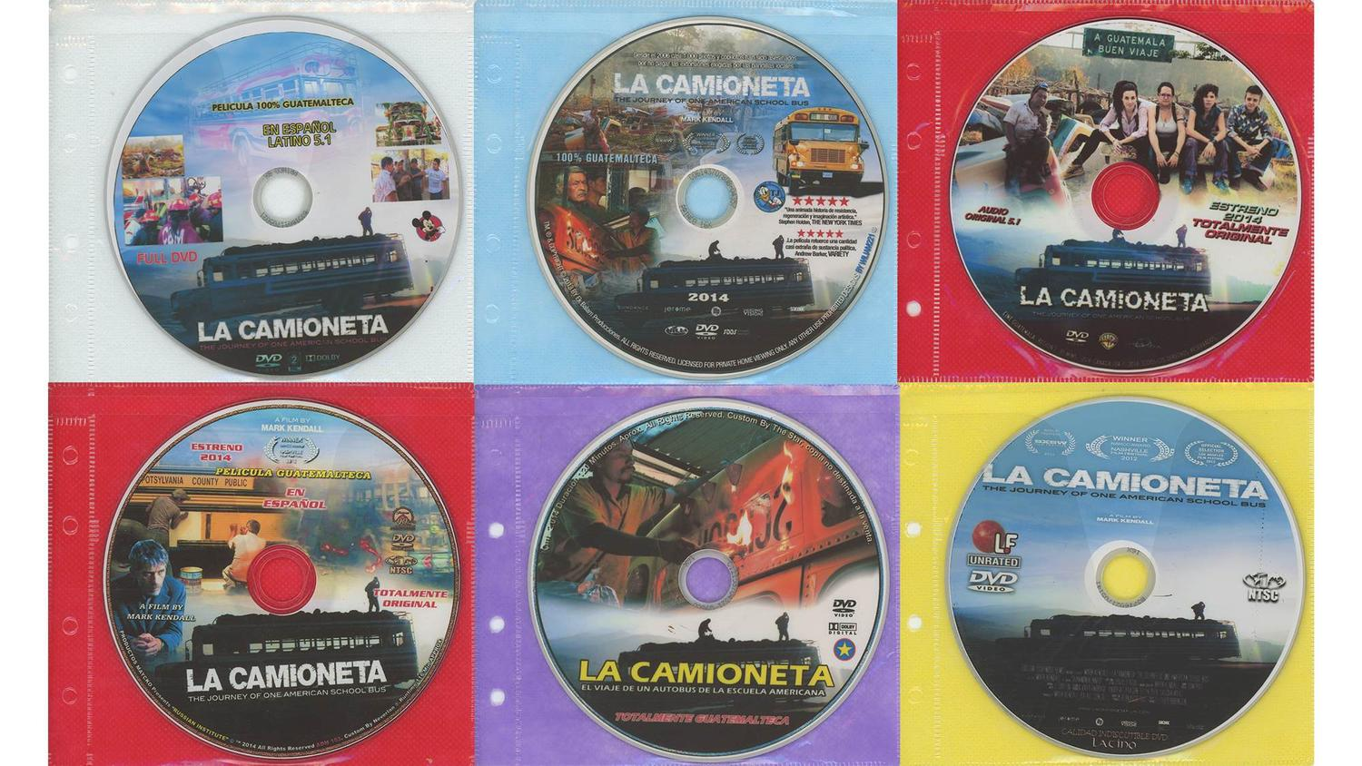In conjunction with the theatrical release in Guatemala, a copy of LA CAMIONETA was shared with leading DVD pirates in Guatemala City, making the film widely accessible to Guatemala's working class. PROXY is an ongoing project in which various pirated copies of the film found during subsequent trips at kiosks and on the streets are collected.Mark Kendall La Camioneta Film Proxy
